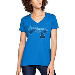 Women's Under Armour Tech V-neck Graphic Tee