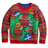 Boys 8-20 Dinosaur Sweater