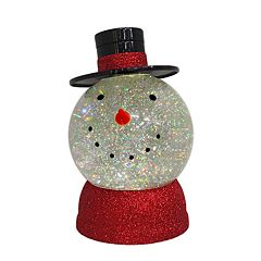 St. Nicholas Square® Light-Up Shimmer Snowman Table Decor