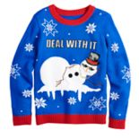 Boys 8-20 Snowman Sweater