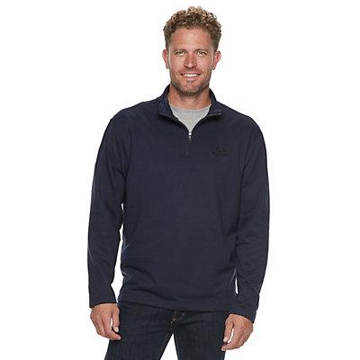 Men's Realtree Logo Fleece Quarter-Zip Pullover