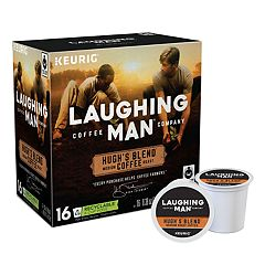 Keurig® K-Cup® Pod Laughing Man Hugh's Blend Medium Roast Coffee - 16-pk.