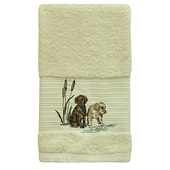 Bacova Woodland Dogs Hand Towel