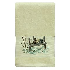 Bacova Woodland Dogs Bath Towel