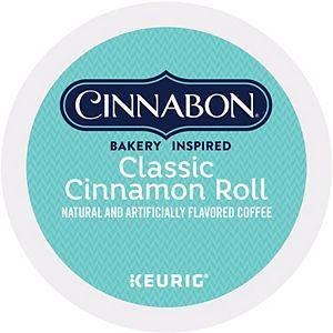 Cinnabon Classic Cinnamon Roll Coffee, Keurig® K-Cup® Pods, Light Roast - 48-pk.