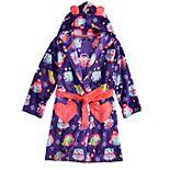 Girls 4-12 Cuddl Duds® Knee Length Plush Robe