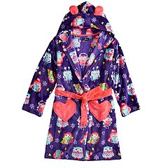 Girls 4-12 Cuddl Duds Knee Length Plush Robe
