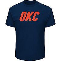 Men's Majestic Oklahoma City Thunder Other Word Tee