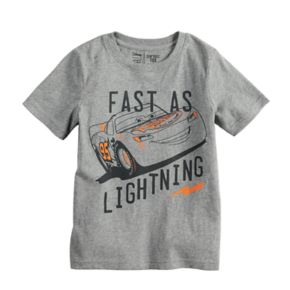 Disney / Pixar Cars Boys 4-12 Lightning McQueen Softest Graphic Tee by Jumping Beans®
