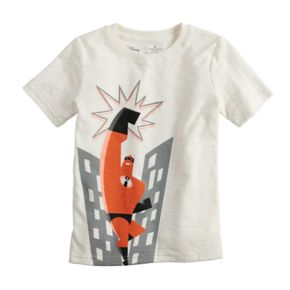 Disney / Pixar The Incredibles Boys 4-12 Mr. Incredible Slubbed Graphic Tee by Jumping Beans®
