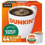 Dunkin' Donuts Decaf Coffee, Keurig® K-Cup® Pods, Medium Roast - 44-pk.