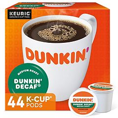 Keurig® K-Cup® Pod Dunkin' Donuts Medium Roast Decaf Coffee - 48-pk.