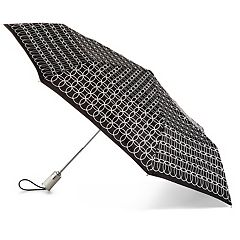 totes NeverWet Auto Open & Close Folding Umbrella