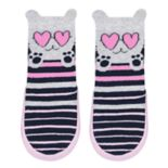 Baby Girl Jumping Beans® Kitty Cat Slipper Socks