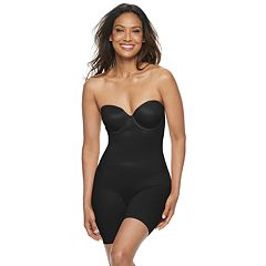 ecd415aeba8 Women s Red Hot by Spanx Convertible Cupped Mid-Thigh Bodysuit 10173R. Very  Black Neutral