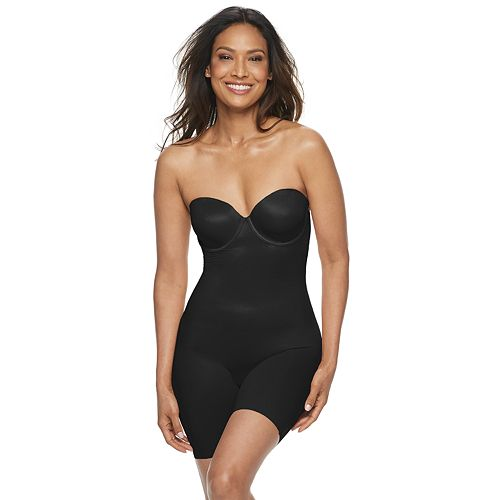 Women's Red Hot by Spanx Convertible Cupped Mid-Thigh Bodysuit 10173R