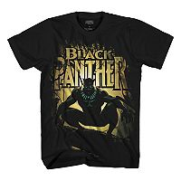 Boys 8-20 Black Panther In The Mist Tee