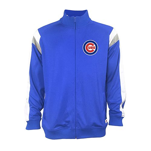 Men's Stitches Chicago Cubs Track Jacket