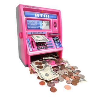 Ben Franklin Talking Pink ATM Machine