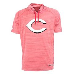 Men's Stitches Cincinnati Reds Hooded Tee