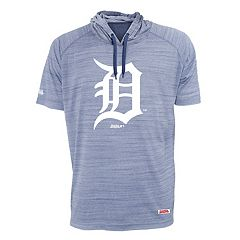 Men's Stitches Detroit Tigers Hooded Tee