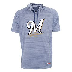 Men's Stitches Milwaukee Brewers Hooded Tee