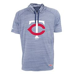 Men's Stitches Minnesota Twins Hooded Tee