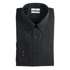 Men's Croft & Barrow® Regular-Fit Easy-Care Button-Down Collar Dress Shirt