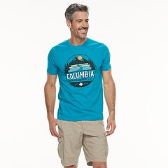 Men's Columbia Chaser Logo Graphic Tee