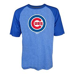 Men's Stitches Chicago Cubs Raglan Tee