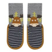 Baby Boy Jumping Beans® Moose Slipper Socks