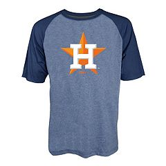 Men's Stitches Houston Astros Raglan Tee
