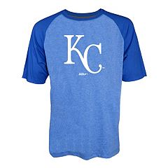 Men's Stitches Kansas City Royals Raglan Tee