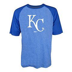 Men's Stitches Kansas City Royals Raglan Tee