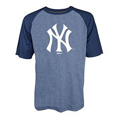 Men's Stitches New York Yankees Raglan Tee