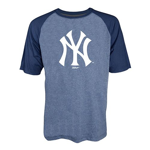 Men s Stitches New York Yankees Raglan Tee 6206a894a41