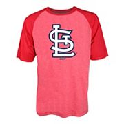 Men's Stitches St. Louis Cardinals Raglan Tee