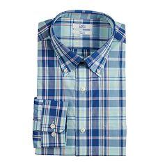 Men's Croft & Barrow® Slim-Fit Easy-Care Button-Down Collar Dress Shirt