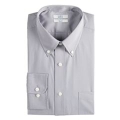 Men's Croft & Barrow® Slim-Fit Easy-Care Button-Down Collar Dress Shirt