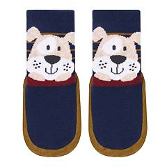 Baby Boy Jumping Beans® Puppy Dog Slipper Socks