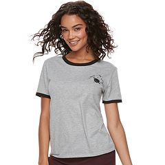 Juniors' THE PRINT SHOP 'Need Space' Ringer Graphic Tee
