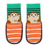 Baby Boy Jumping Beans® Monkey Slipper Socks