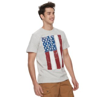 Men's Urban Pipeline? American Flag Tee
