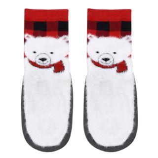 Baby Boy Jumping Beans® Polar Bear Slipper Socks