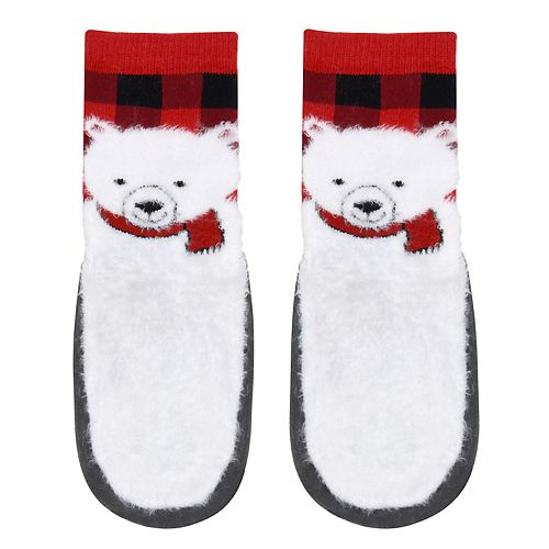 Baby Boy Jumping Beans® Polar Bear Slipper Socks
