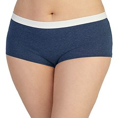 Juniors' Plus Size Saint Eve Cotton Boyshorts 5164038X