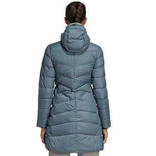 4727b8237 Women's adidas Outdoor Nuvic Climawarm Hooded Down Jacket