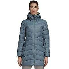 Women's adidas Outdoor Nuvic Climawarm Hooded Down Jacket