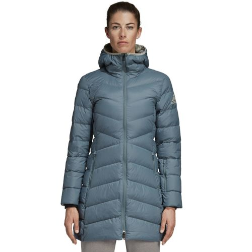 Women's Adidas Outdoor Nuvic Climawarm Hooded Down Jacket by Kohl's