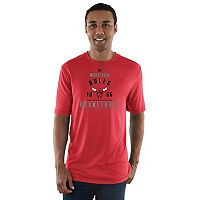 Men's Majestic Chicago Bulls Extra Inch Tee